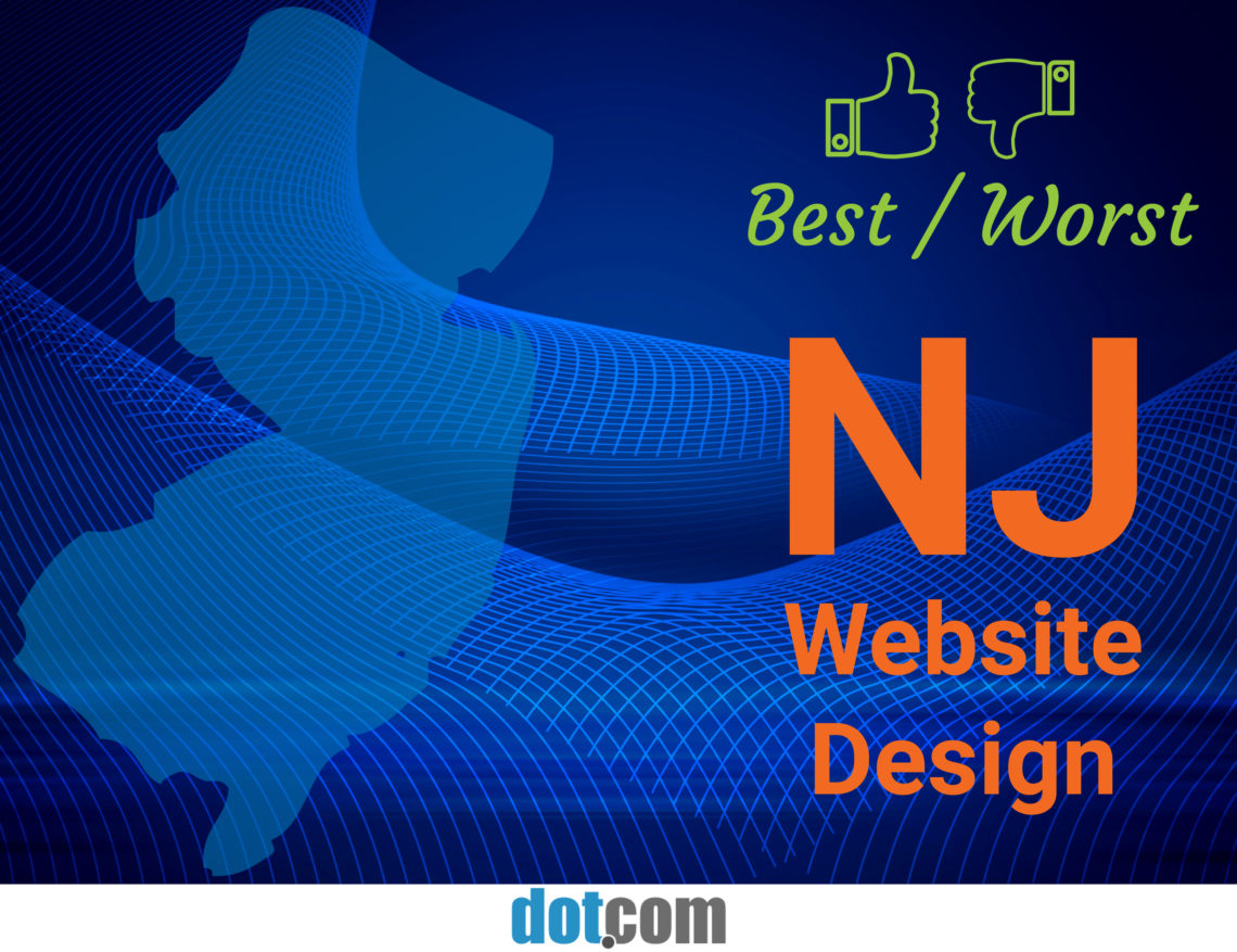 89a80f3fe By Location: Best/Worst NJ Website Design - DotCom Global Media ...