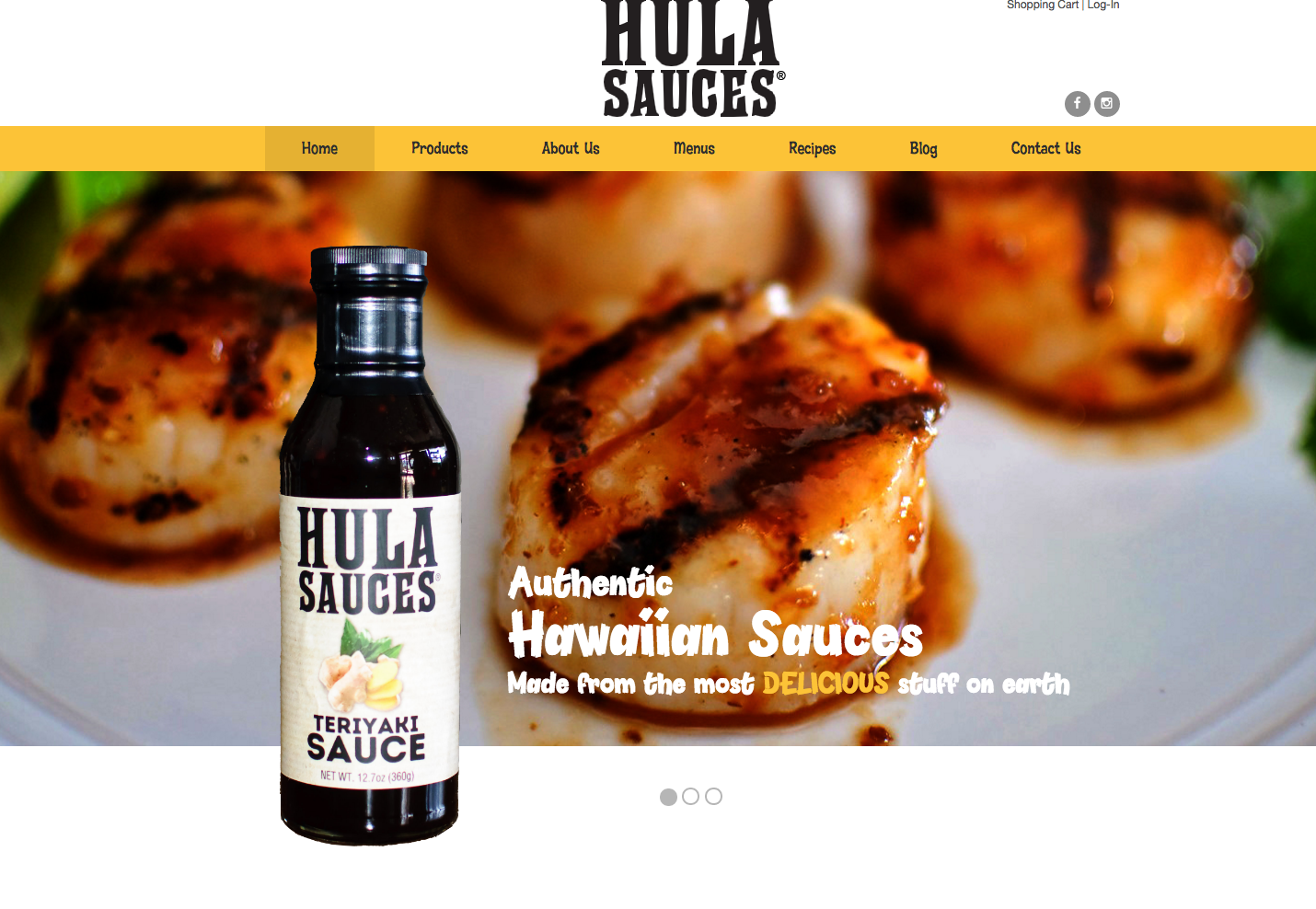Hawaiian Restaurant: New Launch by DotCom Web Designer in