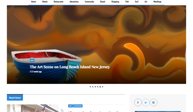 d7752fa084 Hawaiian Restaurant  New Launch by DotCom Web Designer in Ocean City ...