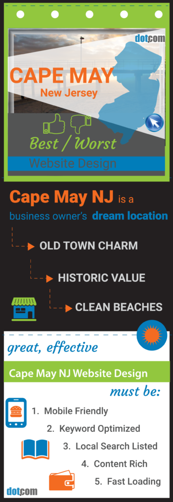 Web Designer in Cape May New Jersey pin