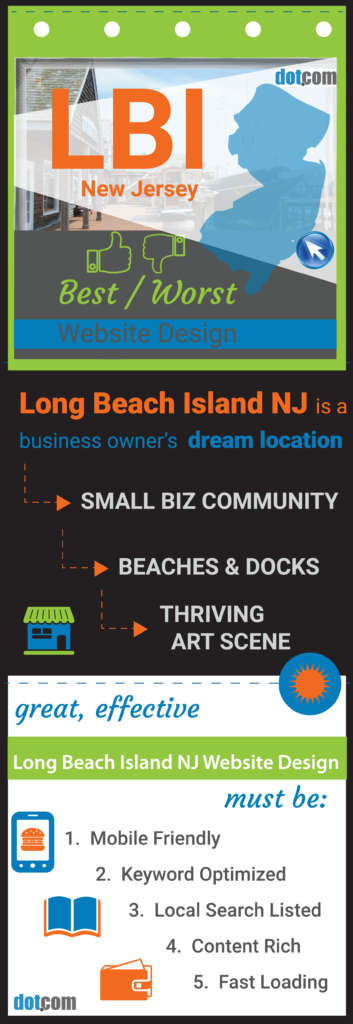 LBI NJ Website Design pin