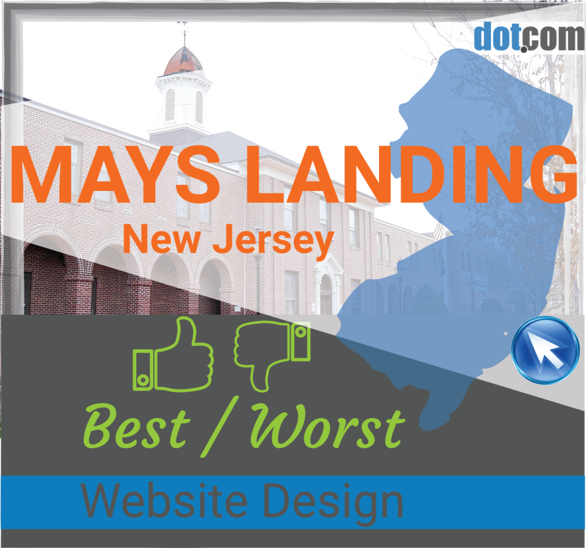 Mays Landing NJ Website Design