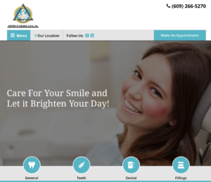 Brigantine NJ Website Design- Jeffrey Delson Homepage