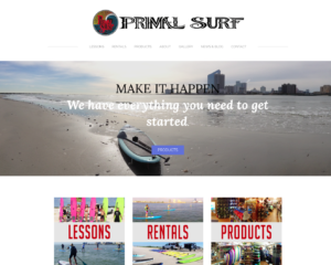 Brigantine NJ Website Design- Primal