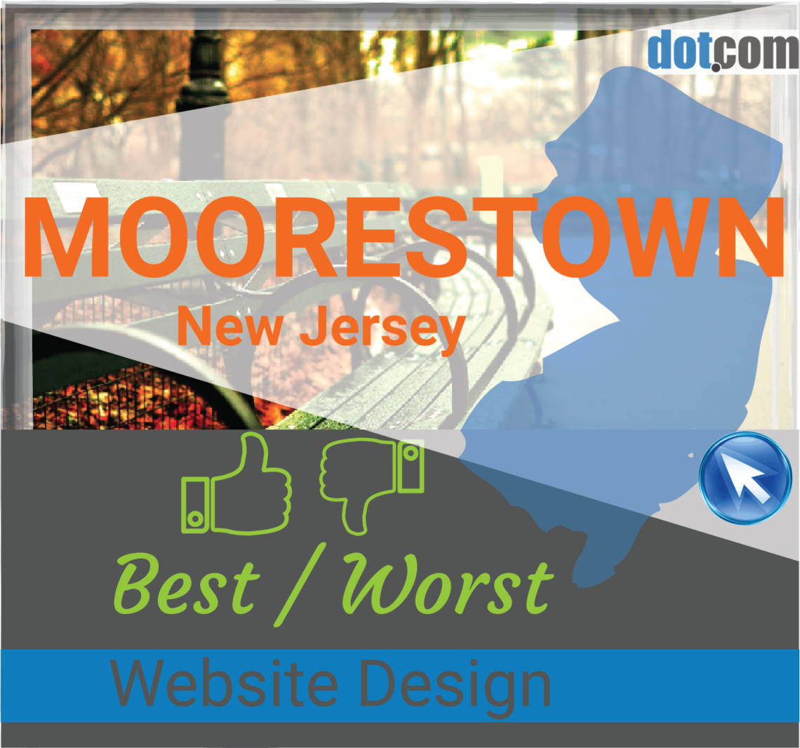 Moorestown NJ Website Design graphic
