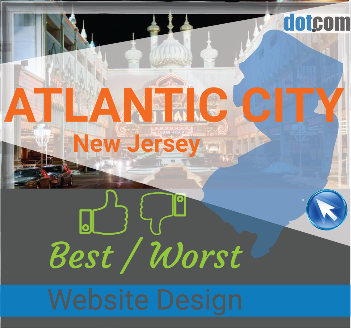 promo code 6b389 d6323 Atlantic City NJ Website Design, The top BEST and WORST websites in ...