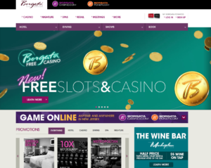 Borgata Casino - Best Atlantic City NJ Website Design