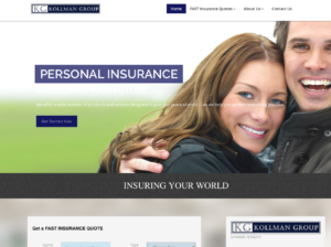 buy popular 07bfb 514e7 Kollman Group Insurance - Best Atlantic County Website Design