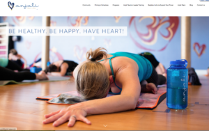 Anajali Power Yoga- Avalon NJ Website Design