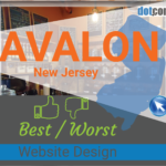 Avalon NJ website design