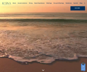 Icona Golden Inn- Avalon NJ Website Design