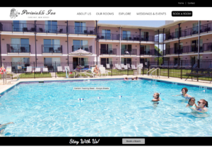 Periwinkle Inn - Best Cape May NJ Website Design