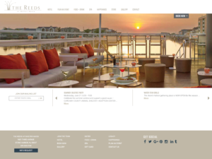 The Reeds - Stone Harbor NJ Website Design