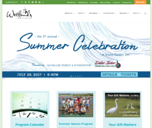 Wetlands Stone Harbor NJ website design