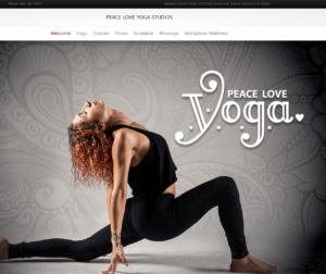Yoga Cumberland County NJ Website Design