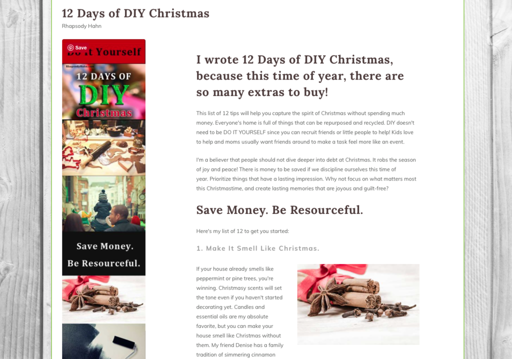 How to Optimize Your Blog for Christmas