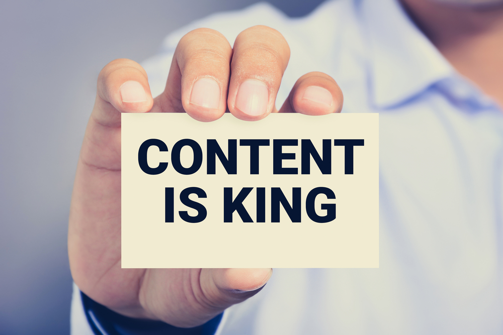 Content Marketing 2018 - Content is Still King ten years later