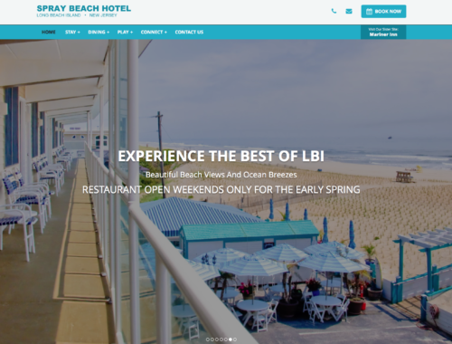 Hotel New Launch Beach Haven Website Design.jpg
