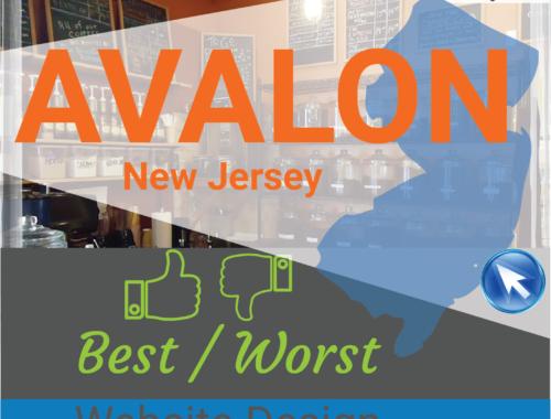 Avalon NJ website design