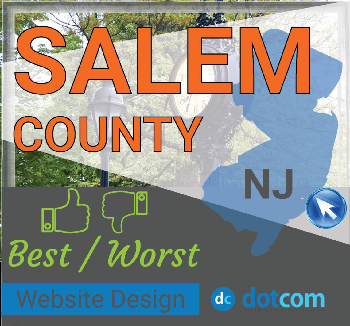 Salem County NJ Website Design