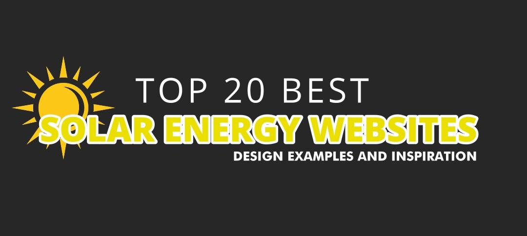 Top 20 Solar Energy Websites